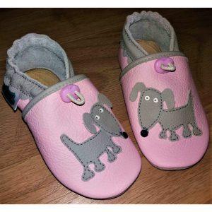 pieski kapcie dla dzieci, kapcie do przedszkola, buty do żłobka, niechodki, pierwsze butki do nauki chodzenia
