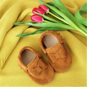 papcie kapcie paputki dzieciece pierwsze buty do chrztu