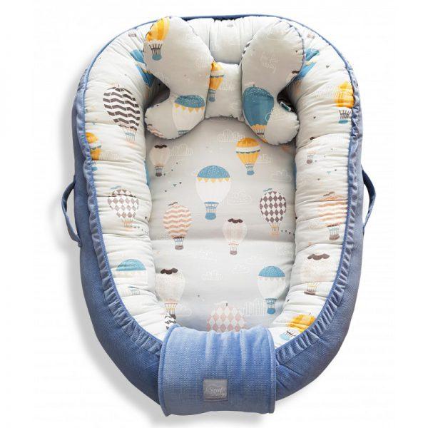 kokony dla niemowlaków prezent na babyshower wyprawka
