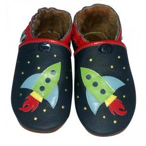 rakieta kapcie dla dzieci paputki miękkie pierwsze buty