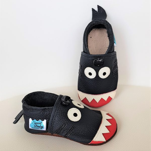 kapcie dla dzieci, kapcie do przedszkola, buty do żłobka, rekiny