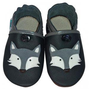 kapcie dla dzieci do przedszkola buty do żłobka miękkie paputki antyposlizgowe do nauki chodzenia raczkowania wilczki