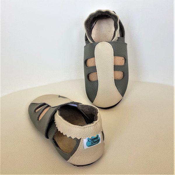 miękkie sandały dziecięce, sandałki skórzane, kapcie dla dzieci do przedszkola