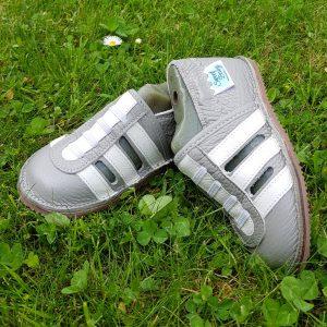 lekkie buty do przedszkola żłobka, paputki skórzane