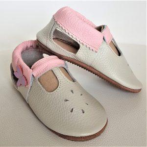 miękkie sandały dziecięce, sandały niemowlęce skórzane, kapcie dla dzieci do przedszkola