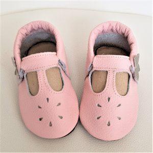 miękkie sandały dziecięce dla dziewczynki, sandałki skórzane, kapcie dla dzieci do przedszkola