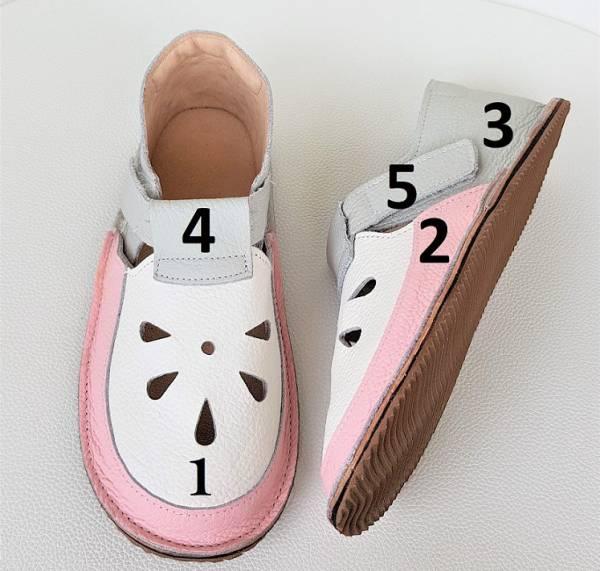 sandały dziecięce, sandały dla dzieci, kapcie do przedszkola, barfoot kinder schuhe, barfeet shoes, bosa stopka