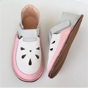barefoot sandały dla dzieci na rzepy, sandały dla dziewczynki, kapcie do przedszkola