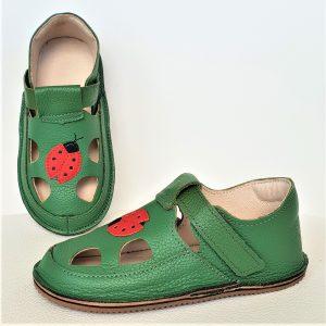 sandalki na rzepy barefootowe minimalistyczne miękkie buty dla dzieci